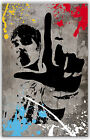 Ian Brown Stone Roses Canvas or Poster Ready To Hang John Squire Mani Reni