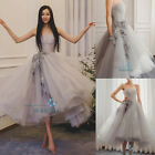 Gray Strapless Evening Dress Party Quinceanera Dresses Prom Bridesmaid Dresses