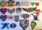 Iron on / Hot Fix Patches - 20 designs - Price is for Two!