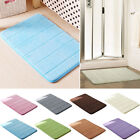 Hot 4 Size Absorbent Memory Foam Bathroom Carpets Bath Mats Non-slip Rug Mats