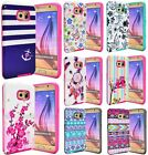 For Samsung Galaxy Note 4 Slim Hybrid Hard Armor Protective Case Cover Cute