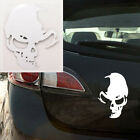 Used, Funny Skull Vinyl Decals Car Decal Window Truck Bumper Auto Laptop Wall Stickers for sale  Shipping to Canada