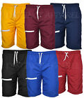 Mens Cargo Swim Shorts Beach Contrast Summer Mesh Lined Holiday