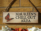 PERSONALISED GARDENING SIGN NAME SIGN NAME PLAQUE GIFTS FOR WOMEN UNUSUAL GIFTS