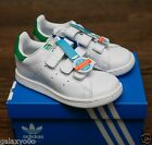 Adidas Stan Smith CF I White/Green  (TD) Toddler Baby 6K-10K M20609