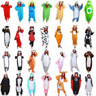 Unisex Adult Pajamas Kigurumi Cosplay Costume Animal Onesie Jumpsuit Sleepwear
