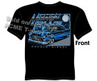 Chevrolet Shirts 1955 Classic Car T Shirt 55 Bel Air Chevy Tee Sz M L XL 2XL 3XL