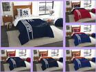 MLB Licensed 5 Piece Twin Comforter Shams Sheets Bed Set In A Bag - Choose Team