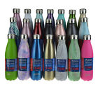 NEW OASIS DRINK BOTTLE 500ml Double Wall Insulated Thermal Hot Cold 14 COLOURS