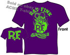 Big Daddy T Shirt Purple & Green Rat Fink Clothing Ed Roth Shirts Sz M L XL 2XL