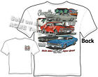 Chevelle Shirts 68 69 70 Muscle Car Tshirt 1967 1968 1969 1970 Sz M L XL 2XL 3XL