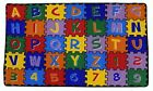 Large Classroom Rugs for Kids ABC Puzzle Educational Area Rug Playtime Collectio