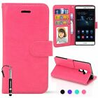 MadCase Premium Leather PU Wallet Kickstand Card Case Cover for Huawei Mate S