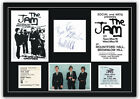 The Jam Autographs Tickets Concert Poster Memorabilia Poster Paul Weller 2 Sizes