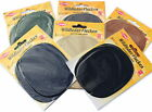 1 pr Kleiber sew on oval suede patches for knees or elbows, choose colour
