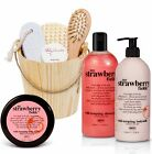 8 Pcs BRUBAKER Happiness Beauty Gift Set Wellness Spa Bath Set in Wooden Bucket
