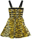 "DOLCE & GABBANA ""Animal Bustier Tiger"" dress gown (beige) new with defects"