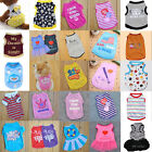 Cool Pet Summer Various Clothes Coat Puppy Small Dog Cat Vest T Shirt Apparel