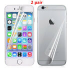 Clear 2Front +2Back Screen Protector Film Guard Skin Cover for iPhone 5/6/6 Plus