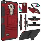 Case Cover for LG G Vista 2 G4 Vista H740 with Belt Clip Holster Stand Outer Box