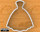 Wedding Dress Cookie Cutter, Selectable sizes, #2