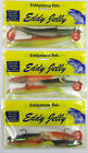 "FISHING LURES EDDYSTONE EEL 1999 NEW WEIGHTED LURES 4"" 11g / 6"" 21g  / 8"" 45g"