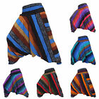 Harem Pants Trousers Hippy Hippie Gypsy Festival Summer Genie Aladdin Stripes