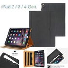 Luxury Leather Wallet Folio Stand Case Cover For iPad 2/3/4/Air1 2/Mini/Pro 2017