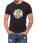 The Flash Logo T Shirt Officially Licensed DC Merchandise