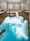3D Huge Waterfall 2 Floor WallPaper Murals Wall Print Decal 5D AJ WALLPAPER