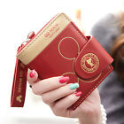 New 2016 Fashion Women student Short mouse Wallet Coin Purse card holder handbag