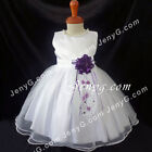 #NLDP7 Baby Girls Christening Wedding Church Birthday Party Night Gowns Dresses