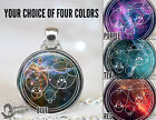 Personalized Gallifreyan Necklace, Custom Doctor Who Pendant, Timelord