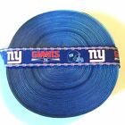 "7/8"" NY New York Giants Mini Logo Grosgrain Ribbon by the Yard (USA SELLER!) $4.85 USD on eBay"