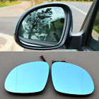 2pcs New Power Heated w/Turn Signal Side View Mirror Blue Glasses For VW Tiguan