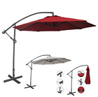 Abba Patio 10-Feet Offset Cantilever Umbrella Outdoor Hangin