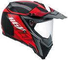 AGV AX-8 Evo Adventure Helmet - Karakum Black / Red