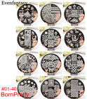 Born Pretty Nail Art Stamping Plates Image Stamp Templates Tools Decoration DIY