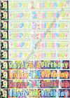 Happy Birthday Banner 1st To 10th Shiny Foil Banner 9ft 2.7m long