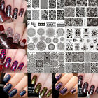 Nail Art Stamp Stamping Plates Templates Image Manicure Born Pretty L-Series $1.99 USD