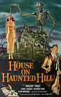A3/A4 SIZE - Vincent Price House on Haunted Hill Vintage Movie Film Wall Poster