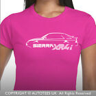 RETRO FORD SIERRA XR4i LADIES SOFTSTYLE CLASSIC CAR T-SHIRT