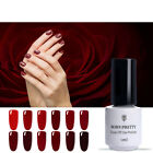 5ml Red Series UV Gel Nail Polish Born Pretty Soak Off  Nails Gel Varnish Tools