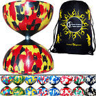 MR BABACHE HARLEQUIN DIABOLO set  + Flames 'N' Games Travel Bag