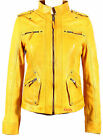 New Celebrity Lambskin Gorgeous Leather  Biker Jacket For Women EHS W- 201