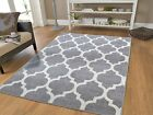 Kyпить New Gray Rugs Moroccan Trellis Area Rugs Grey Carpet 5 x 7 Gray Rugs 8x10 Rug 2x на еВаy.соm