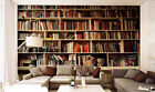 Huge 3D Realistic Bookshelf Wall Paper Wall Print Decal Wall Deco Indoor Wall