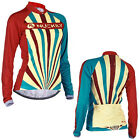 Women Bicycle Sportwear Top Cycling Jerseys Long Sleeve Bike Clothing Coothay