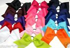 """XWIDE 3"""" Texas Size Tryout Camp Softball Cheer Cheerleading Bow"""