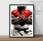 RYU - Street Fighter Poster Life Arcade Wall Art  - All Sizes + Frame